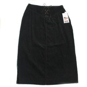 NWT - Vintage Bill Blass Corduroy Max Skirt